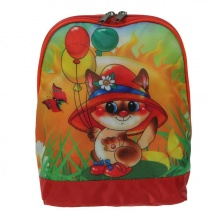 Рюкзак детский на молнии, 19х8х22 см, МИКС