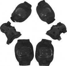Защита роликовая Onlitop OT-2011 размер S, чёрный
