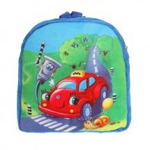 """Детский рюкзак """"Машинка"""", 24×26×4 см, Страна Карнавалия"""