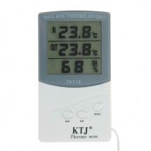 Термометр электронный, указатель влажности, МИКС