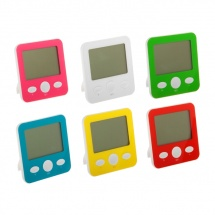 Термометр электронный, указатель влажности, часы МИКС