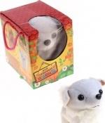 """Интерактивная игрушка """"Белая собака"""""""