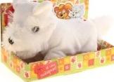 """Интерактивная игрушка """"Щенок белый"""", в коробке"""