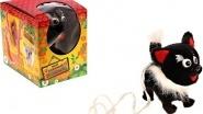 """Интерактивная игрушка """"Черно-белая кошка""""."""