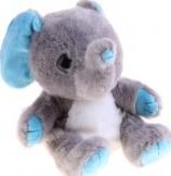 Мягкая интерактивная игрушка-повторюшка Слоник