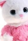 """Мягкая интерактивная игрушка-повторюшка """"Кошечка в розовой кофточке"""""""