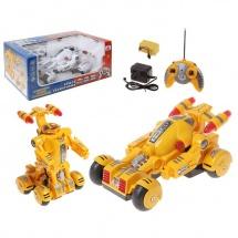 """Машина-трансформер """"Робот"""", радиоуправляемая, цвета МИКС"""