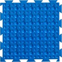 Массажный коврик Орто Камешки. Первый шаг мягкий 25x25 см, синий