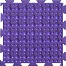 Массажный коврик Орто Камешки. Первый шаг мягкий 25x25 см, фиолетовый