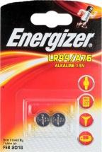 Батарейка Energizer А76/LR44 алкалиновая 2 шт