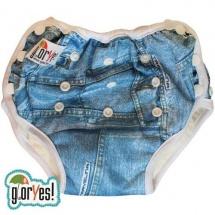 Многоразовые трусики GlorYes для приучения к горшку (10-20 кг) джинс