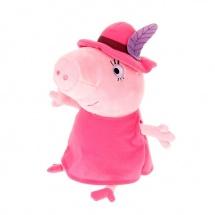 "Мягкая игрушка ""Мама в шляпе"", Peppa Pig"