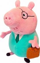 """Мягкая игрушка """"Папа Свин с кейсом"""", Peppa Pig"""
