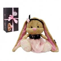 """Мягкая игрушка """"Зайка Лин в розовом платьице"""", 34 см, Jack and Lin"""