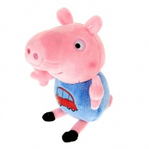 "Мягкая игрушка ""Джордж с машинкой"", Peppa Pig"