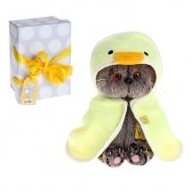 """Мягкая игрушка """"Басик BABY"""" в полотенце, с капюшоном, 20 см, Басик и Ко"""