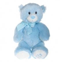 """Мягкая игрушка """"Медвежонок"""", цвет голубой, 38 см, TY"""