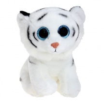 "Мягкая игрушка ""Тигренок Tundra"", белый, 25 см, TY"