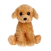 """Мягкая игрушка """"Щенок Luke"""" рыже-коричневый, 15 см, TY"""