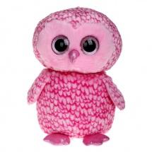 """Мягкая игрушка """"Совенок Pinky"""", розовый, 40 см, TY"""