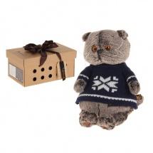 """Мягкая игрушка """"Басик в свитере"""", 22 см, Басик и Ко"""