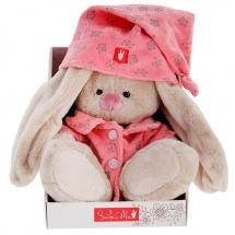 "Мягкая игрушка ""Зайка Ми"" в розовой пижаме, 18 см, Зайка Ми"