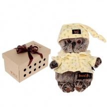 """Мягкая игрушка """"Басик в пижаме"""", 19 см, Басик и Ко"""