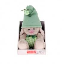 """Мягкая игрушка """"Зайка Ми - гномик в зелёном"""", 15 см, Зайка Ми"""