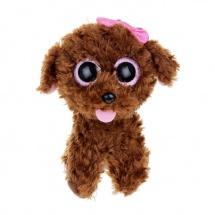 """Мягкая игрушка """"Щенок Maddie"""", коричневый, 23 см,TY"""