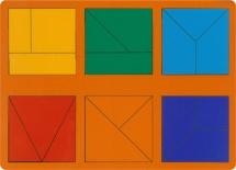Игры Никитина Грат Сложи квадрат 1 уровень