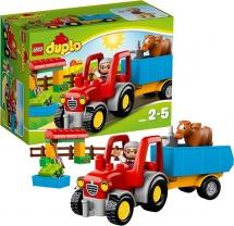 Lego Duplo Сельскохозяйственный трактор 10524