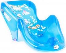 """Горка для ванночки """"AQUA"""", прозрачно-синий, TEGA"""