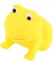 Игрушка резиновая Забияка Лягушка