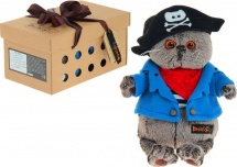 "Мягкая игрушка ""Басик - пират"", 25 см, Басик и Ко"