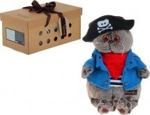 "Мягкая игрушка ""Басик - пират"", 30 см, Басик и Ко"