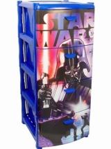 Комод Idea Звёздные войны 4 ящика, синий