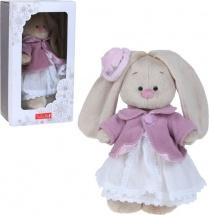 """Мягкая игрушка """" Зайка Ми"""" в фиолетовом пальто и белом платье, 25 см, Зайка Ми"""