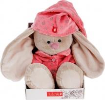 "Мягкая игрушка ""Зайка Ми"" в розовой пижаме, 23 см, Зайка Ми"