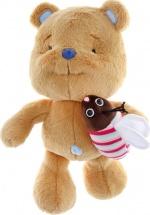 """Мягкая игрушка """"Медвежонок Сластёна"""", 30 см, Левеня"""