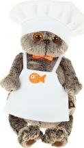 "Мягкая игрушка ""Басик шеф-повар"", 30 см, Басик и Ко"