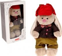 """Мягкая игрушка """"Зайка Ми. Мальчик Эдинбург"""", 25 см, Зайка Ми"""