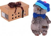 """Мягкая игрушка """"Басик в кепке"""", 22 см, Басик и Ко"""