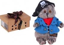 "Мягкая игрушка ""Басик - пират"", 19 см, Басик и Ко"