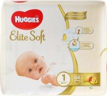 Подгузники Huggies Elite Soft 1 (до 5 кг) 84 шт