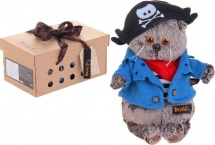 "Мягкая игрушка ""Басик - пират"", 22 см, Басик и Ко"