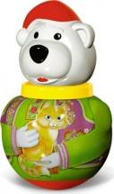 """Неваляшка малая """"Белый медведь Борис"""", Стеллар"""