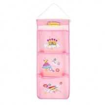 """Кармашки на стену """"Для маленькой принцессы"""" (3 отделения)"""