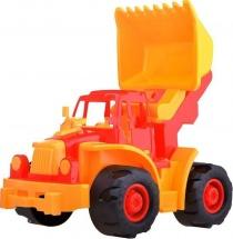Трактор Нордпласт Богатырь мини с грейдером