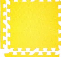 Мягкий пол универсальный, 9 дет., 30х30 см, желтый , Pol-par
