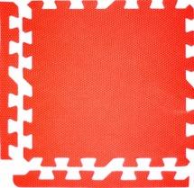 Мягкий пол универсальный, 9 дет., 30х30 см, красный , Pol-par